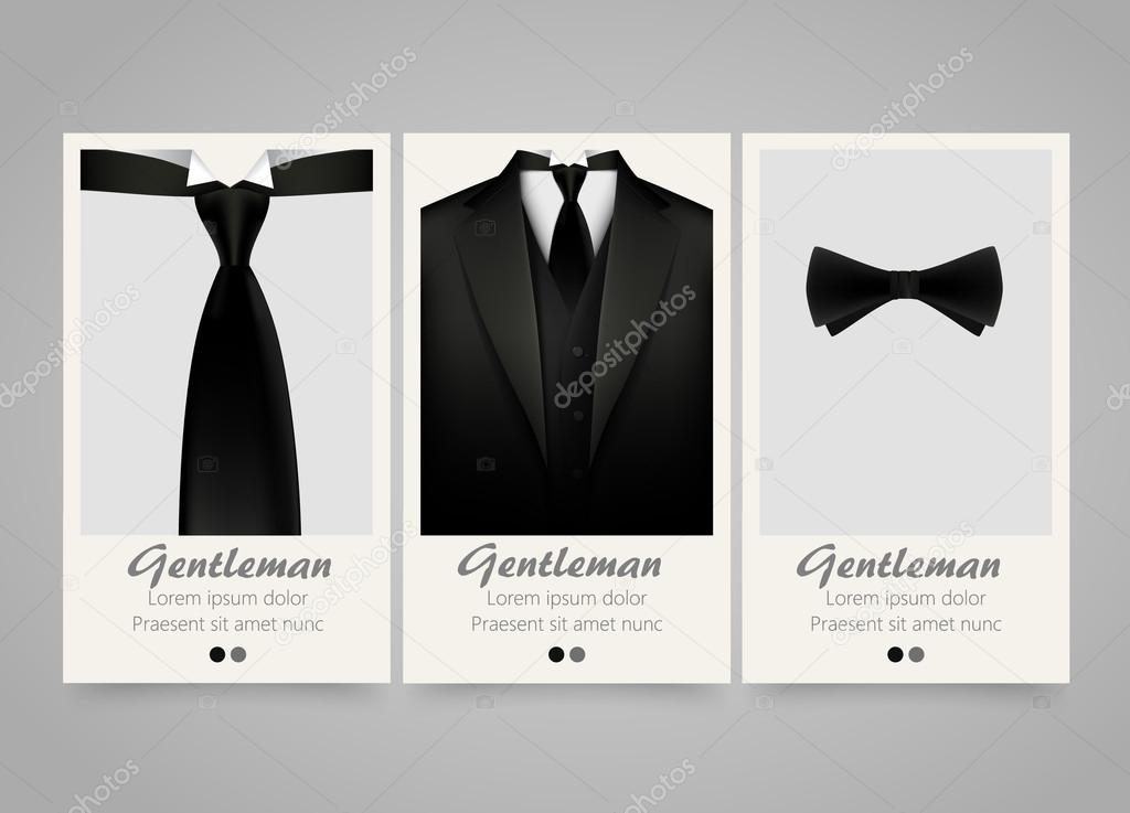Moderne Farbige Vertikale Offizielle Kleidung Banner. Hochzeit Zeremonie  Einladung U2014 Stockvektor