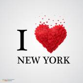 i love new york heart sign.