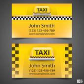 Taxi-Visitenkarte