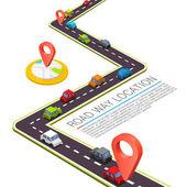 Zpevněné cesty na silnici