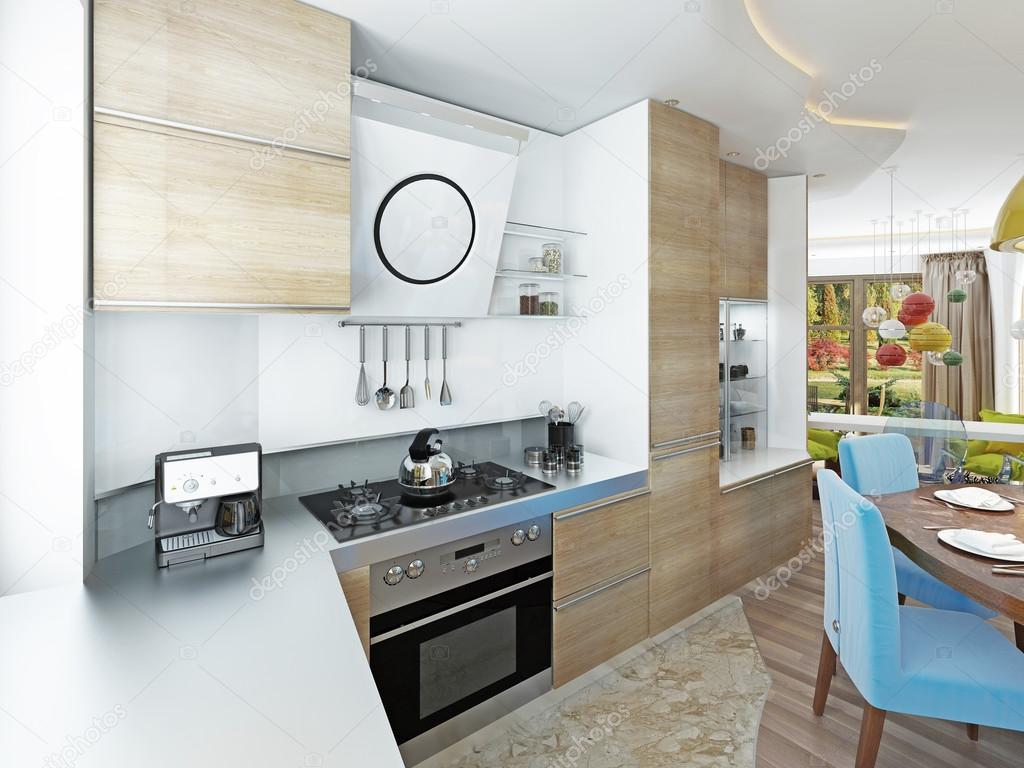 Moderne Küche Esszimmer Im Stil Von Kitsch Stockfoto Kuprin33