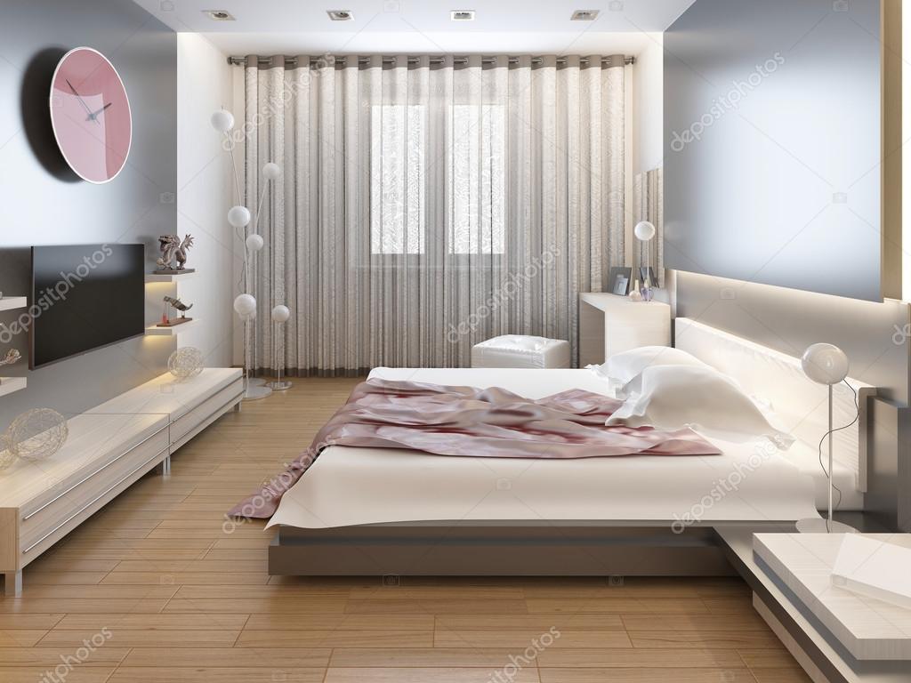 Camere Da Letto Stile Orientale : Camera da letto in stile orientale con fiori rossi e gialli u foto