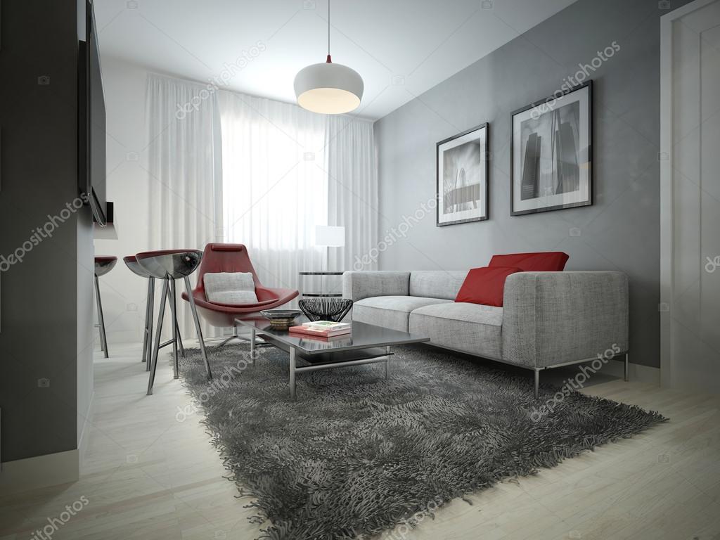 Salon style moderne — Photographie kuprin33 © #51834739