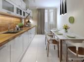 Photo Kitchen contemporary style