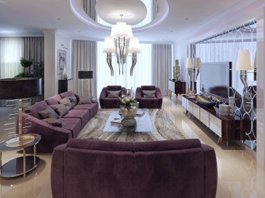 Living room luxury style