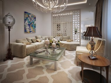 Living room Arabic style