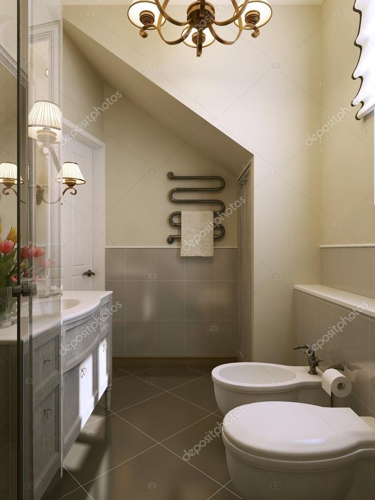 Bagno in stile provenzale foto stock kuprin33 60964273 - Arredamento bagno stile provenzale ...