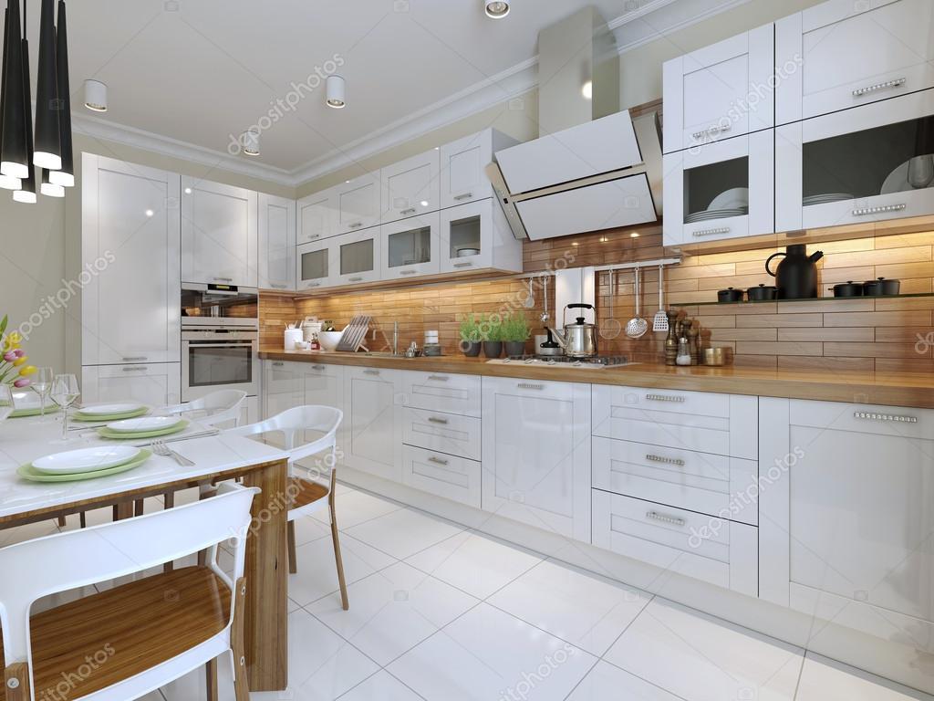 cucina in stile contemporaneo — Foto Stock © kuprin33 #60964861