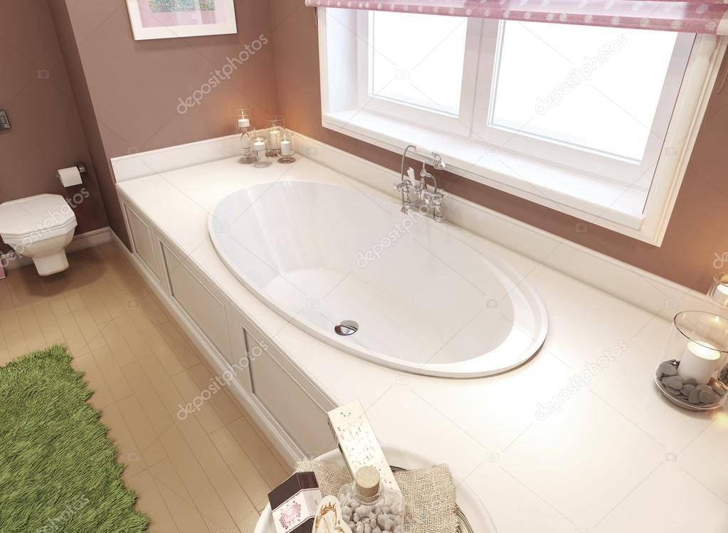 Kinder Badezimmer-klassisch — Stockfoto © kuprin33 #60965495