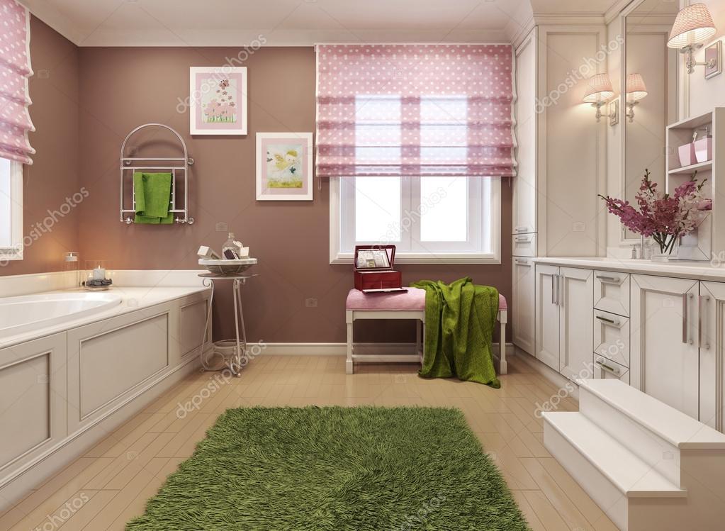 Kinder Badezimmer-klassisch — Stockfoto © kuprin33 #60965501