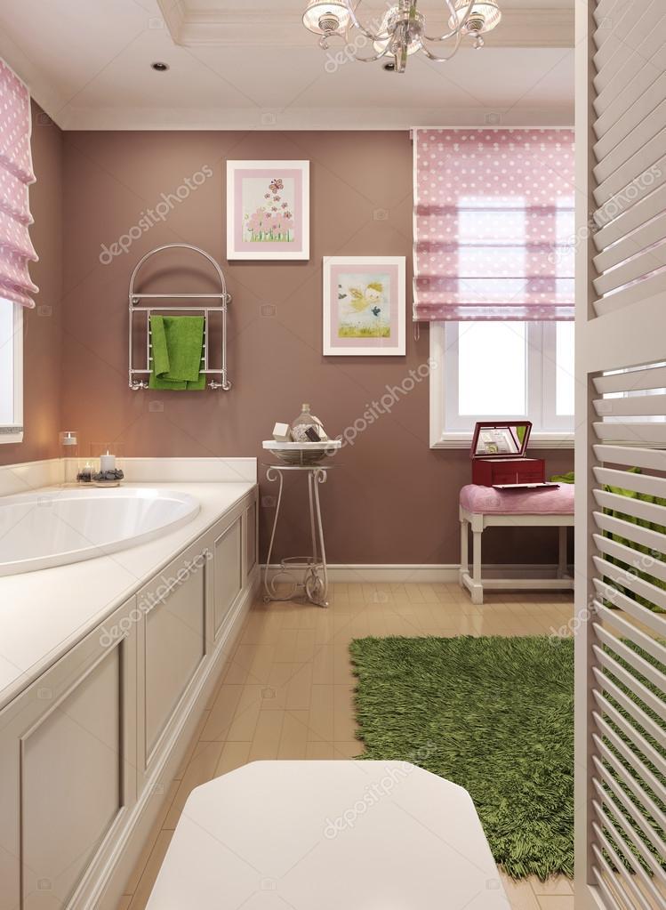 Kinder Badezimmer Klassisch U2014 Stockfoto #60965593