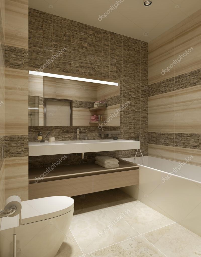 Bagno in stile contemporaneo — Foto Stock © kuprin33 #60965759