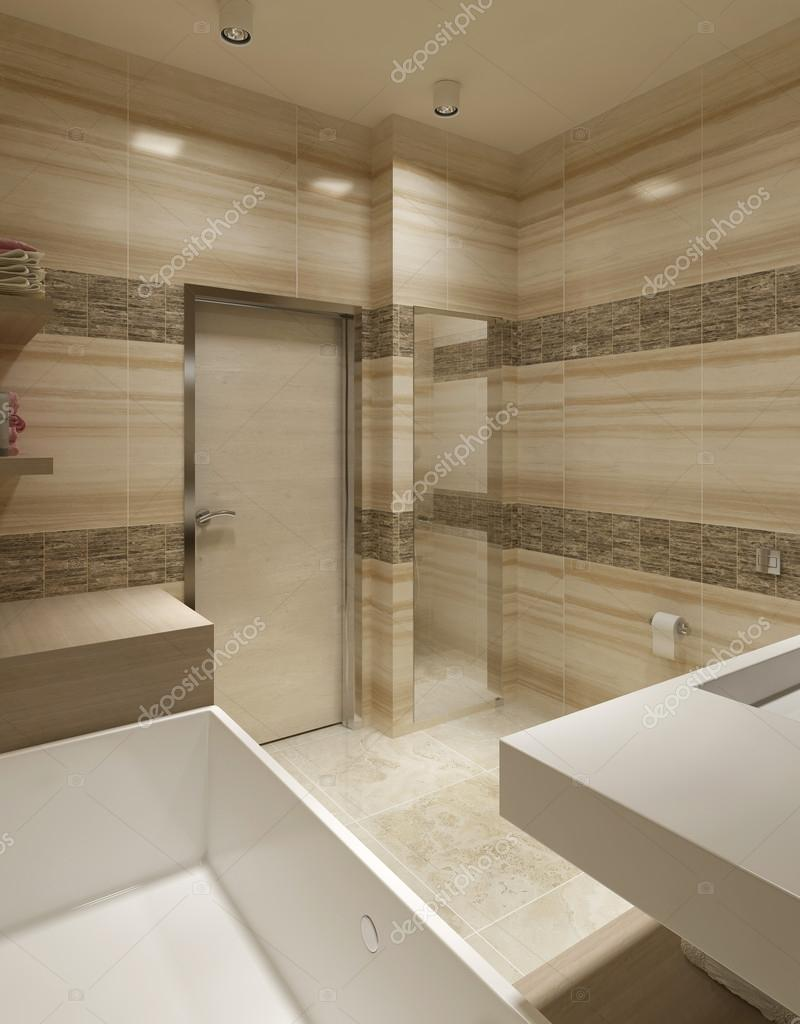 Zeitgenössischen Stil Badezimmer — Stockfoto © kuprin33 #60965779