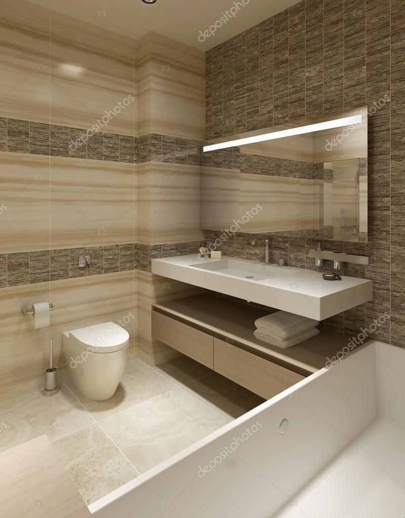 Zeitgenössischen Stil Badezimmer — Stockfoto © kuprin33 #60965781