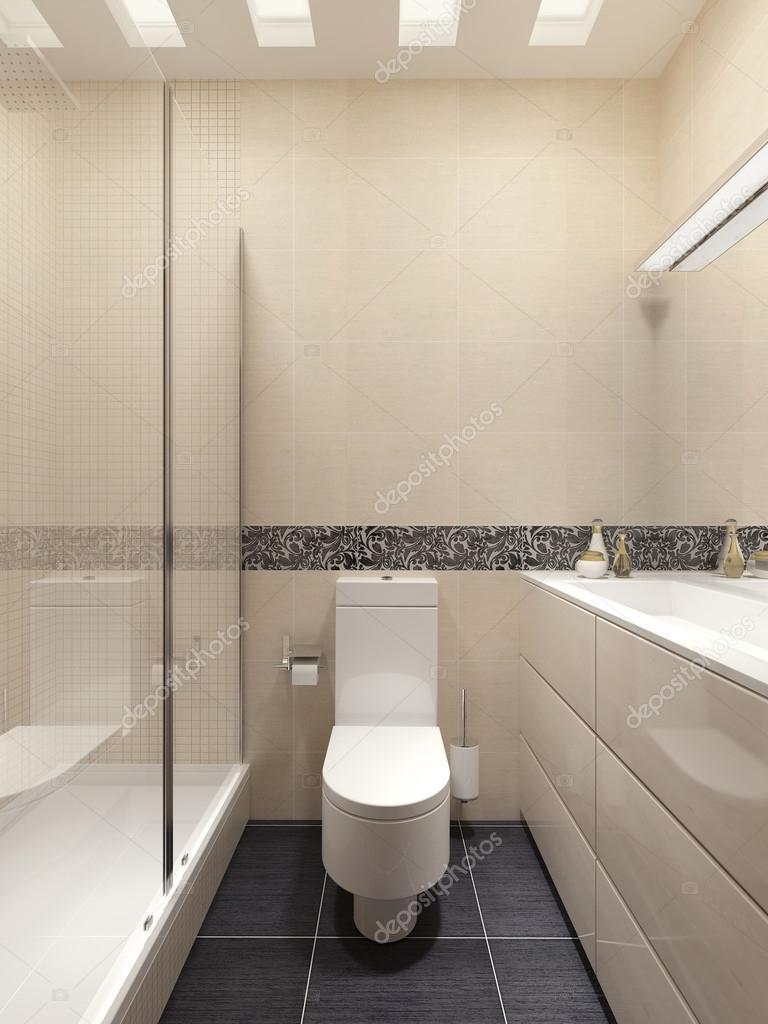 Ba o principal en estilo moderno fotos de stock for Ver cuartos de bano modernos