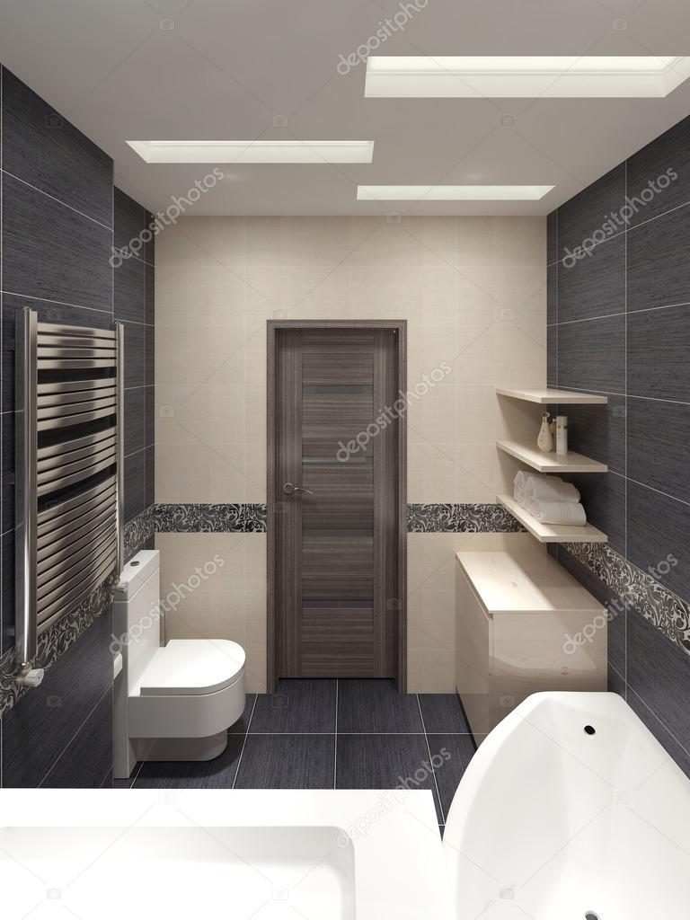 Bagno padronale in stile moderno — Foto Stock © kuprin33 #60966731