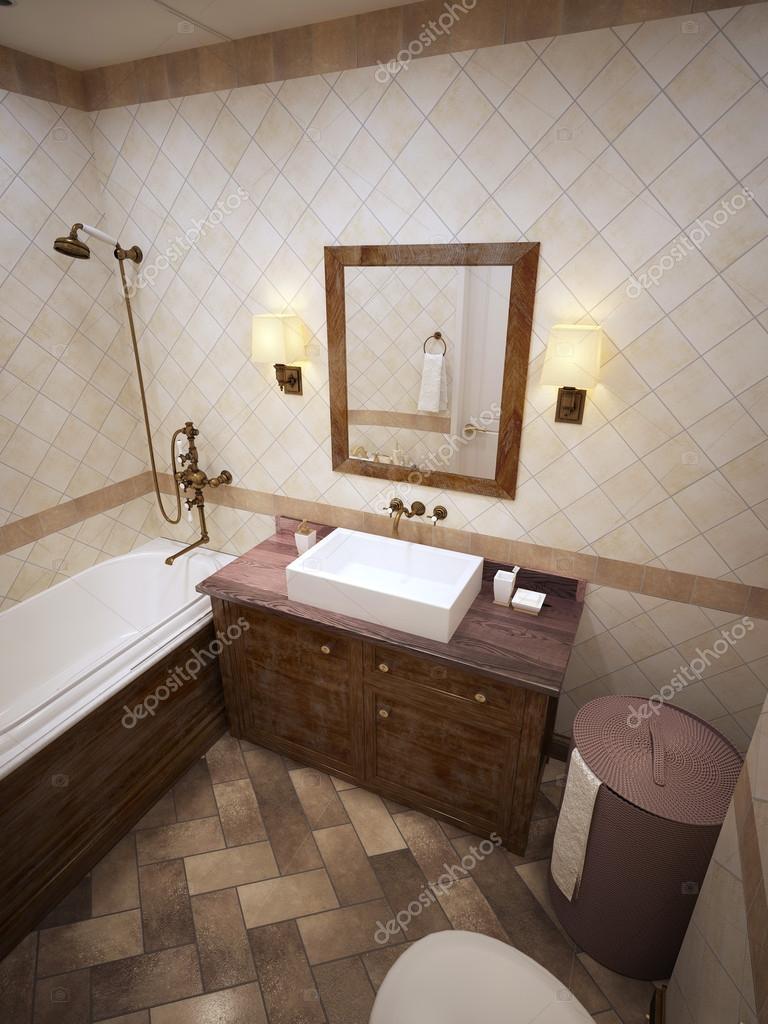 Bagno in stile provenzale — Foto Stock © kuprin33 #60966801