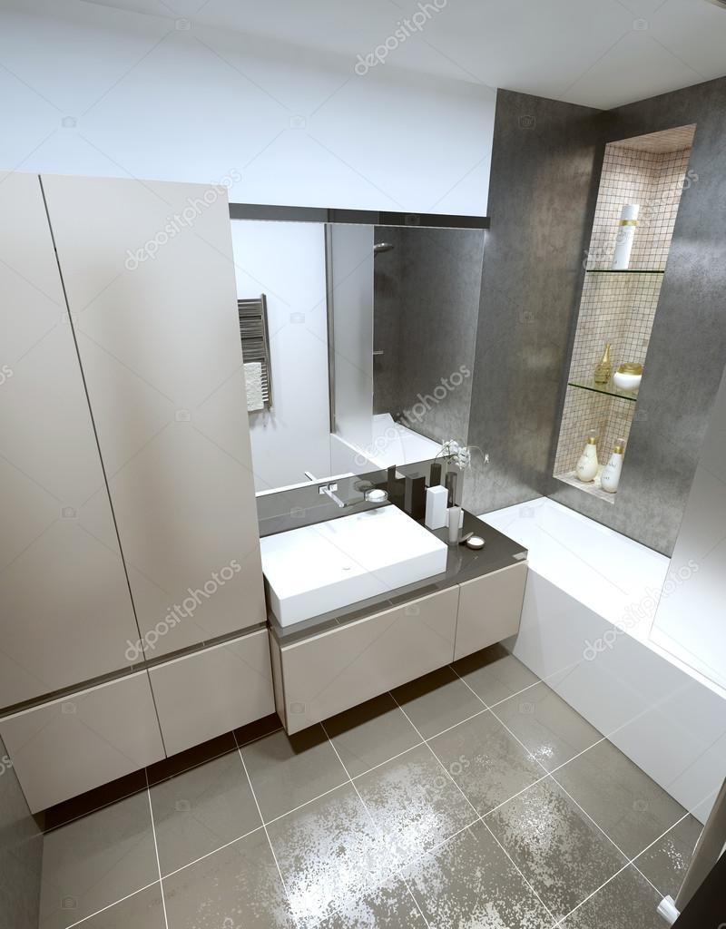 Zeitgenössischen Stil Badezimmer — Stockfoto © kuprin33 #60968175