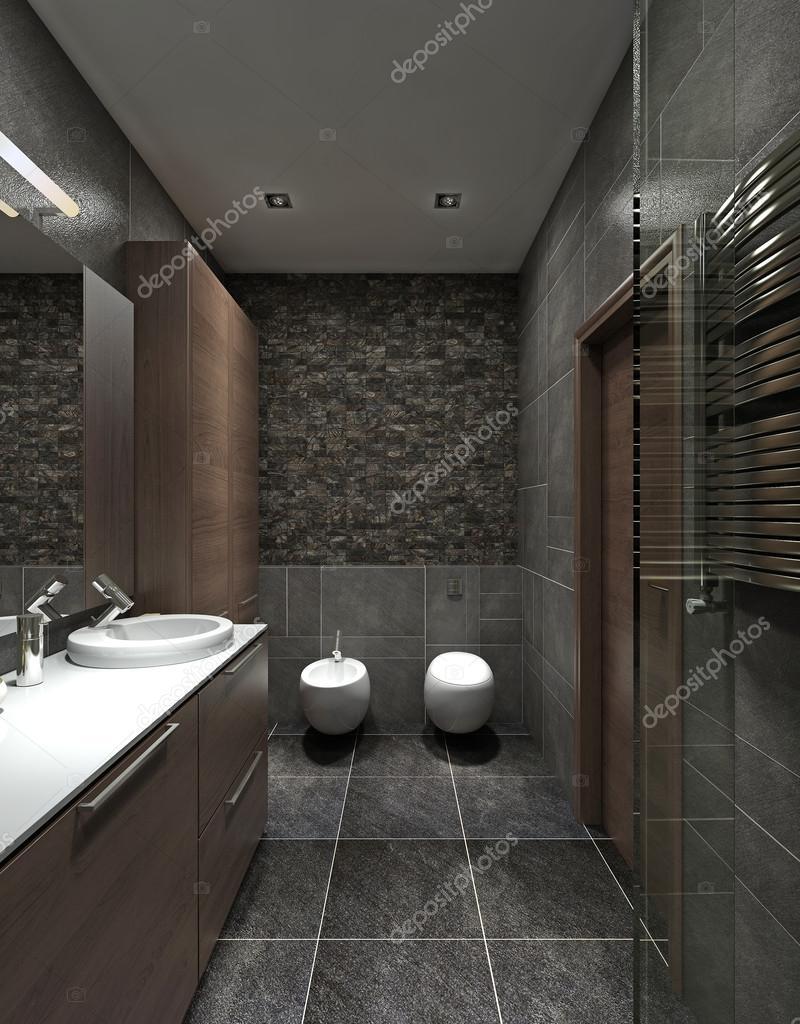 Zeitgenössischen Stil Badezimmer — Stockfoto © kuprin33 #60968503