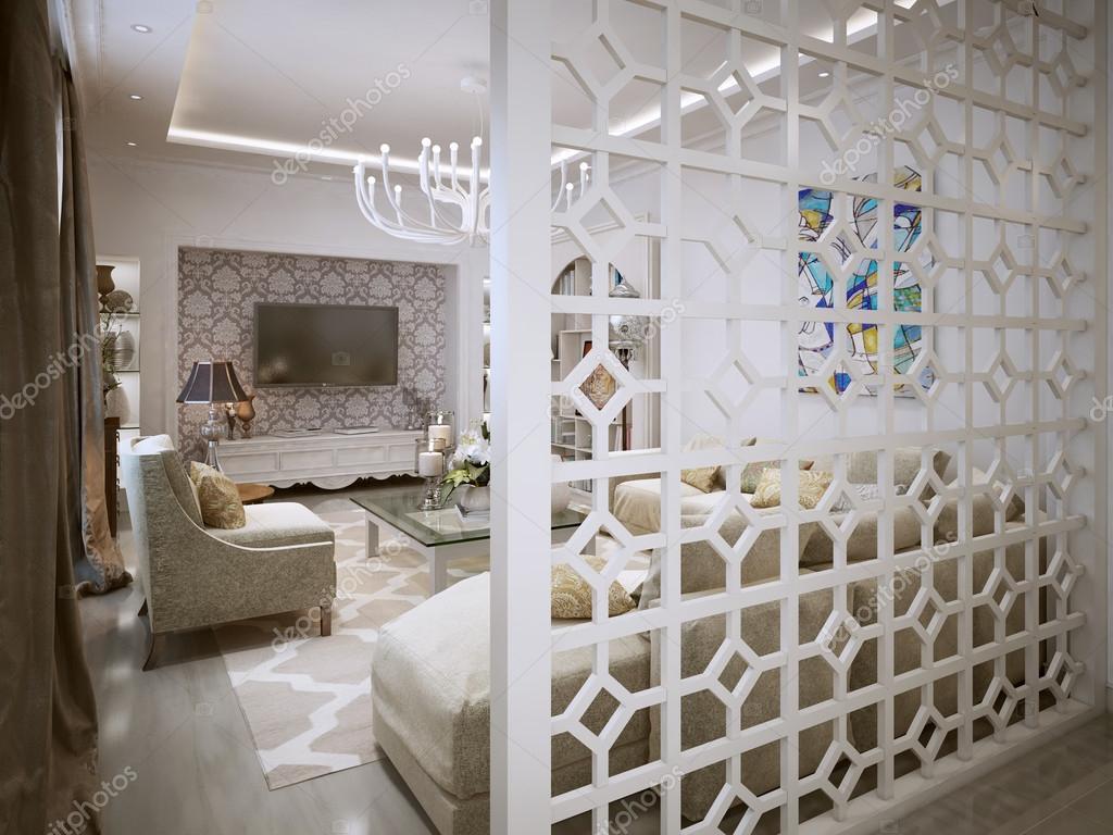 woonkamer arabische stijl — stockfoto © kuprin33 #60968539, Deco ideeën