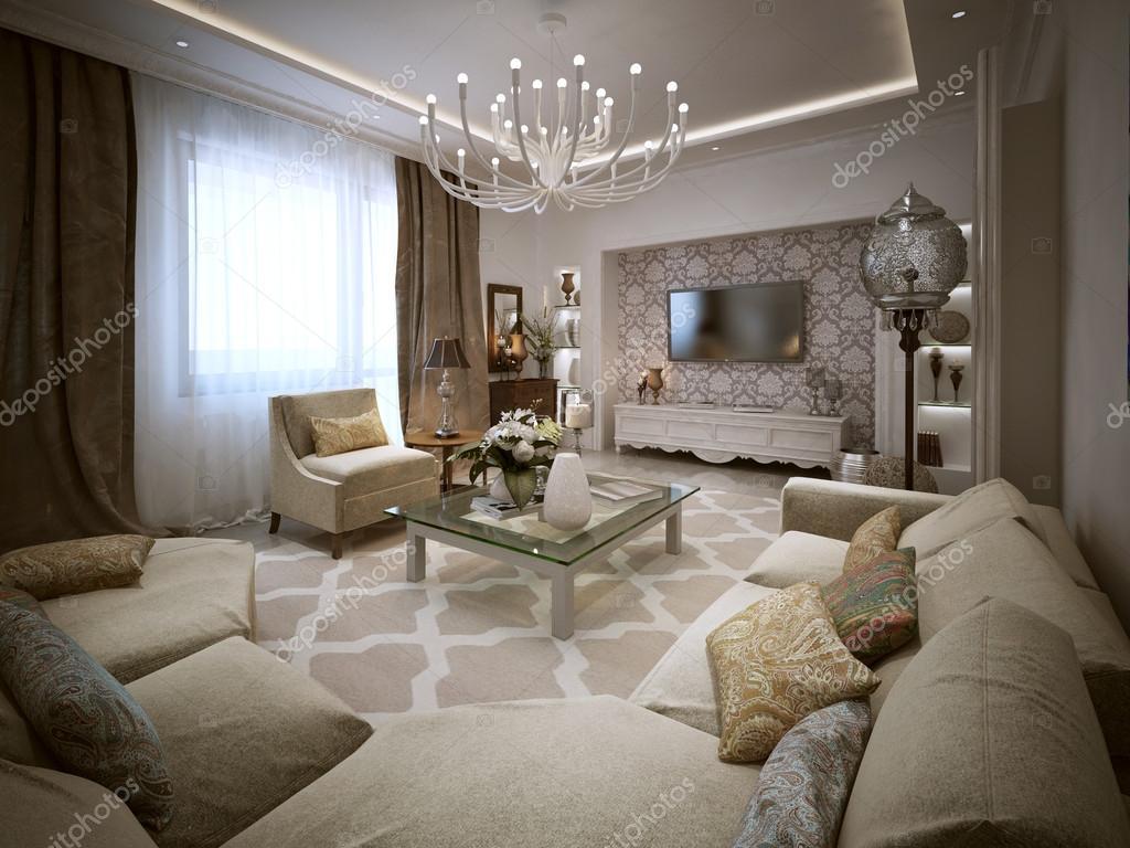 Salon style arabe — Photographie kuprin33 © #60968555