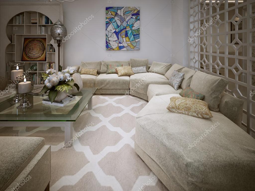 woonkamer arabische stijl — stockfoto © kuprin33 #60968723, Deco ideeën