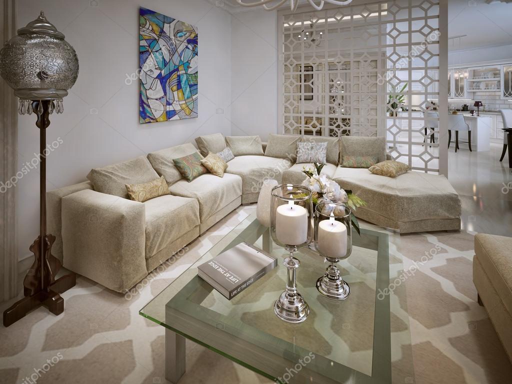 woonkamer arabische stijl — stockfoto © kuprin33 #60968747, Deco ideeën
