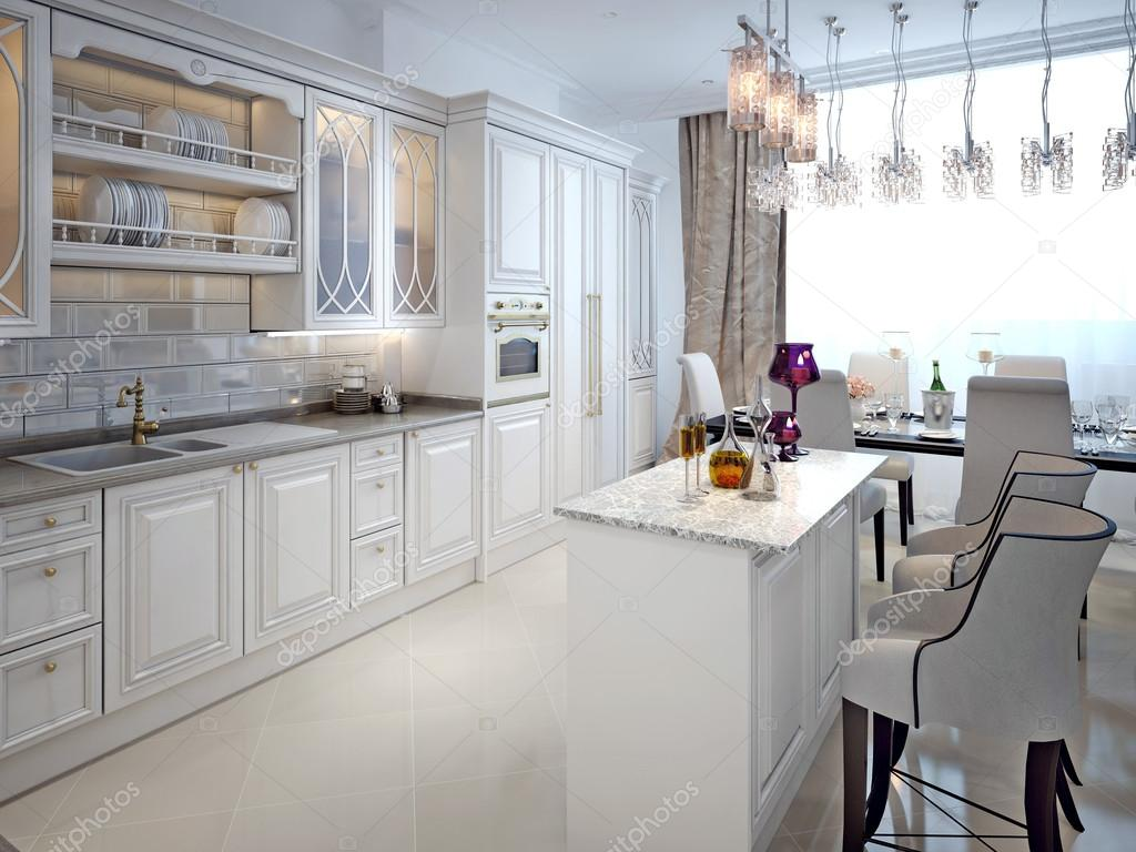 Cucina in stile classico — Foto Stock © kuprin33 #60968817
