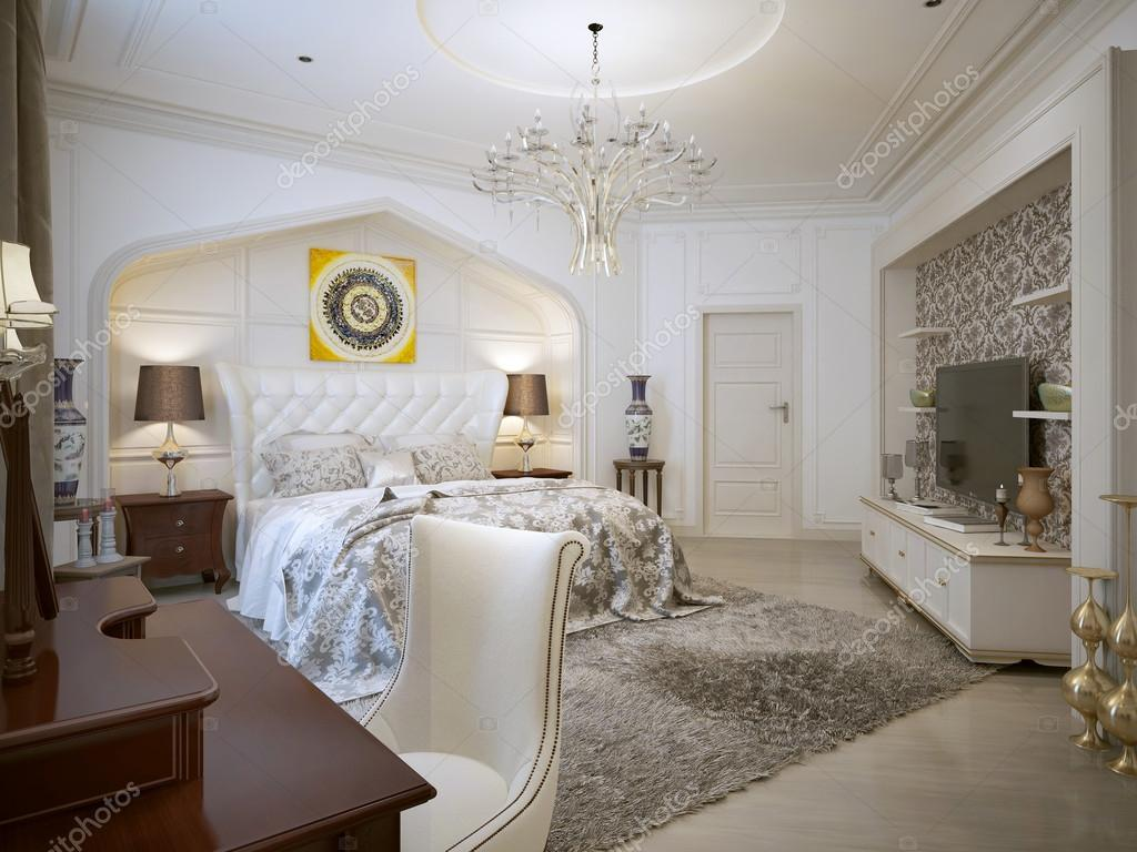 Slaapkamer oosterse stijl — Stockfoto © kuprin33 #60968889