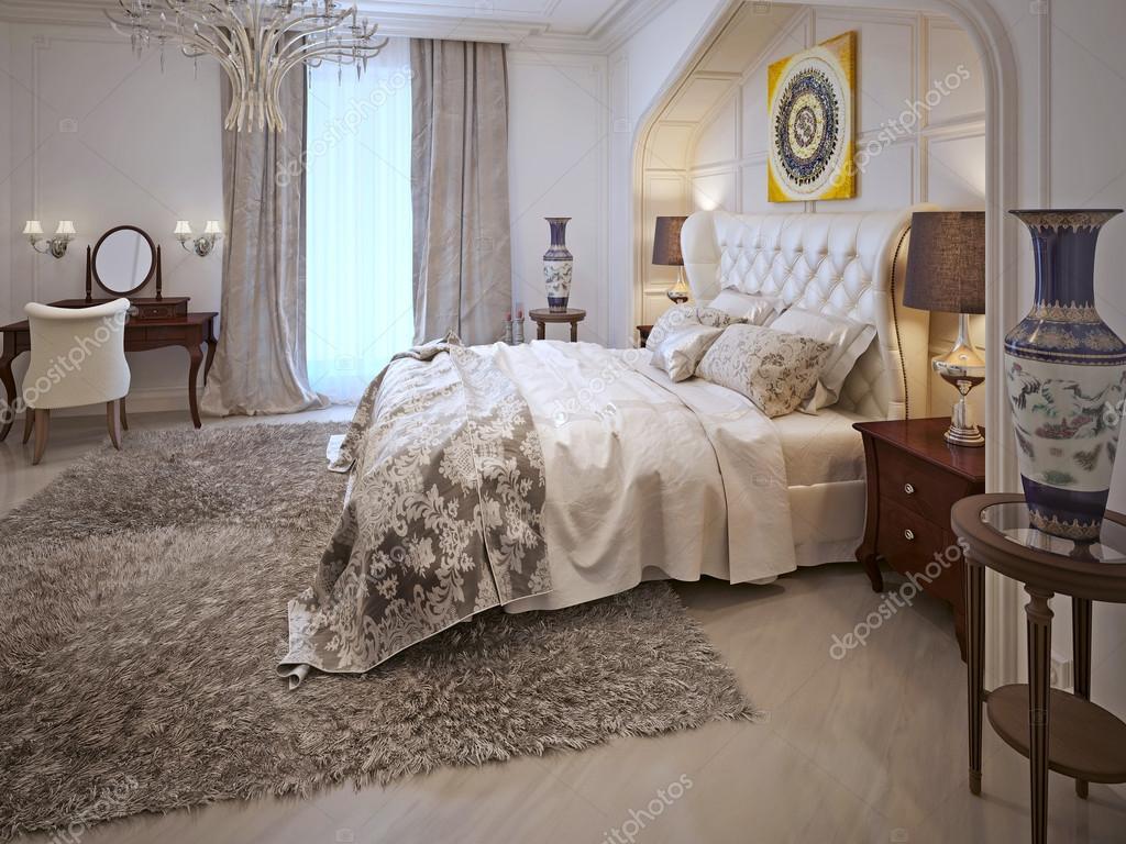 Slaapkamer oosterse stijl — Stockfoto © kuprin33 #60968901