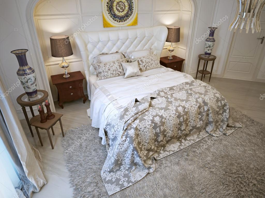 Schlafzimmer Orientalischen Stil U2014 Stockfoto