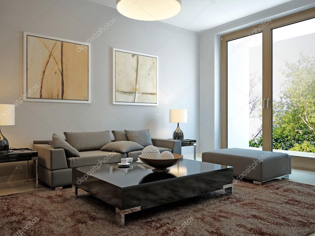 Skandinavischen Stil Wohnzimmer Stockfoto Kuprin33 77514916