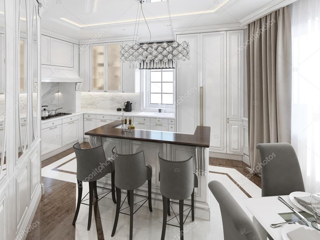 Küche-Esszimmer Art Deco-Stil — Stockfoto © kuprin33 #77515350