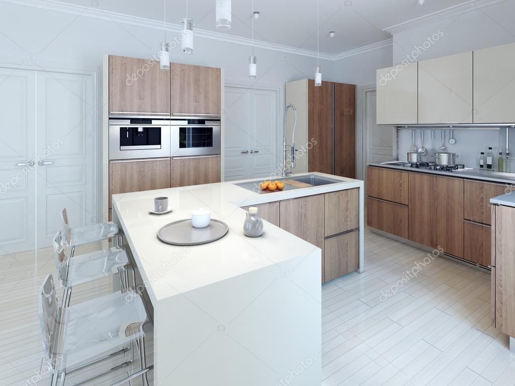 conception moderne cuisine fonctionnelle — photographie kuprin33