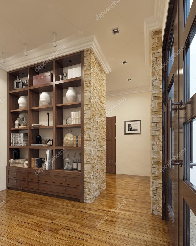 Niesamowite Współczesny szafy w przedpokoju — Zdjęcie stockowe © kuprin33 LX66