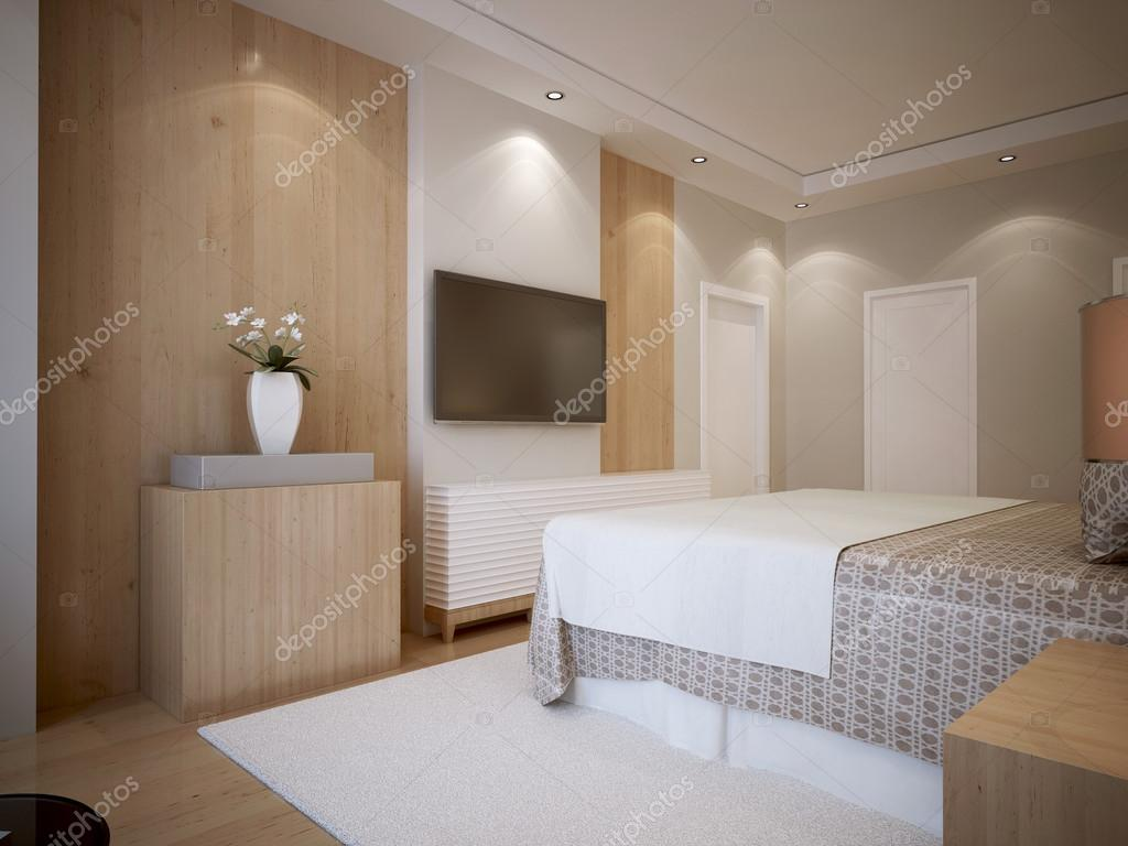 Jeugd slaapkamer moderne stijl — Stockfoto © kuprin33 #77519178