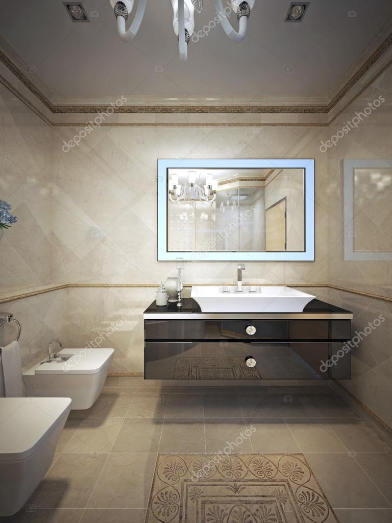 Baños estilo art deco   Estilo art deco de lujo baño ...