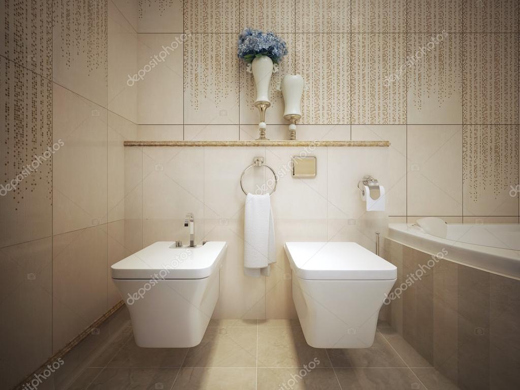 Klassieke stijl wc u stockfoto kuprin