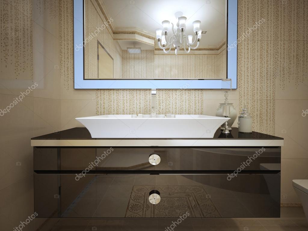 Art deco badkamer design u2014 stockfoto © kuprin33 #77519850