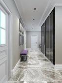 Fotografia Progettazione del corridoio moderno