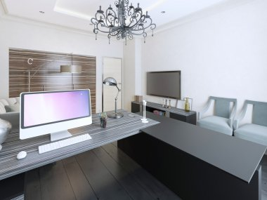 Working area contemporary style