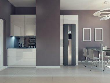 Bright kitchen furniture