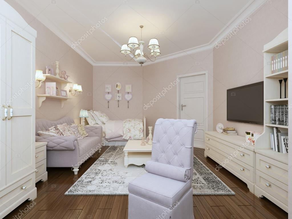 Stile provenzale camera da letto — Foto Stock © kuprin33 #77520056