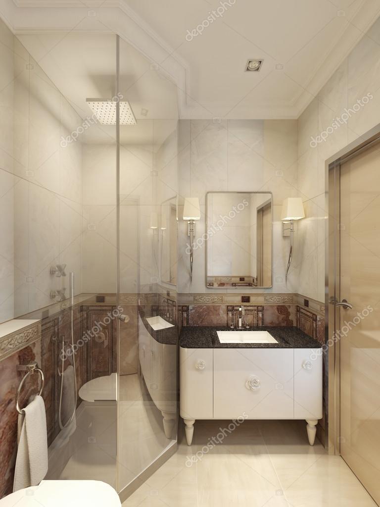 신고전주의 욕실 인테리어 — 스톡 사진 © kuprin33 #77520436