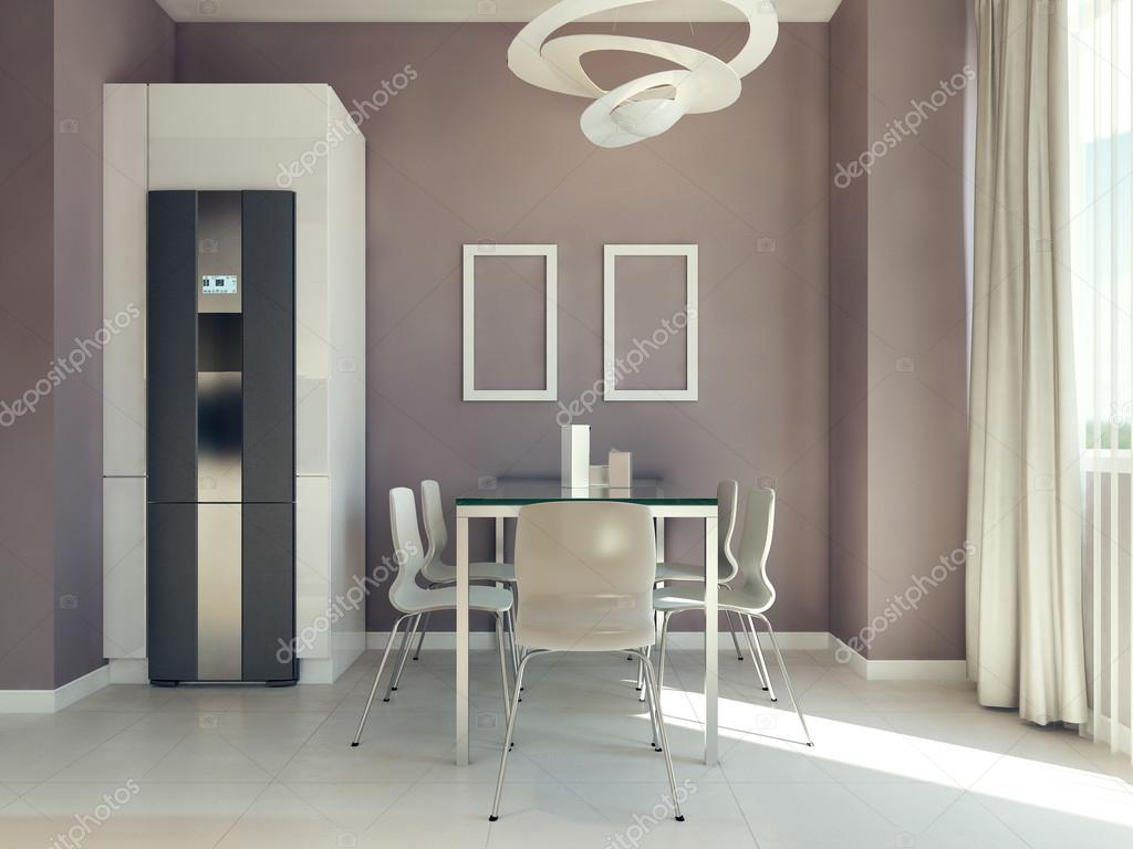 Comedor diseño moderno — Foto de stock © kuprin33 #77521312