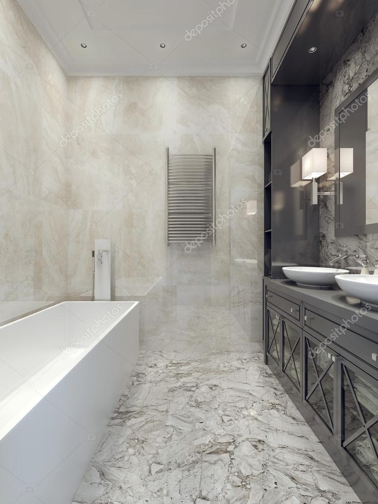 Art deco-stijl badkamer — Stockfoto © kuprin33 #77521562