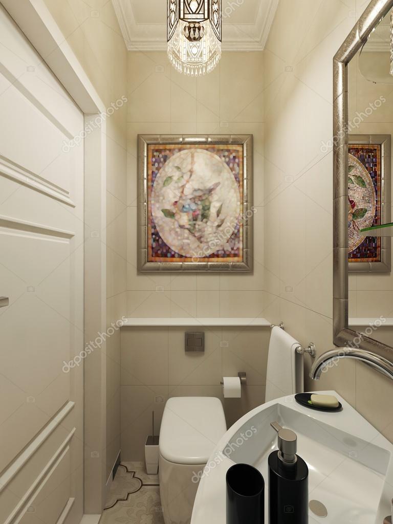 Conception de salle de bains orientale — Photographie ...