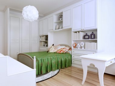 Idea of classic-styled bedroom