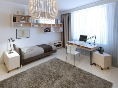 Bright bedroom trend