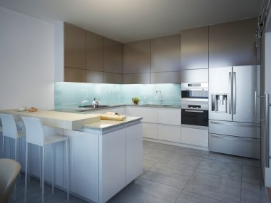 Idea of contemporary kitchen